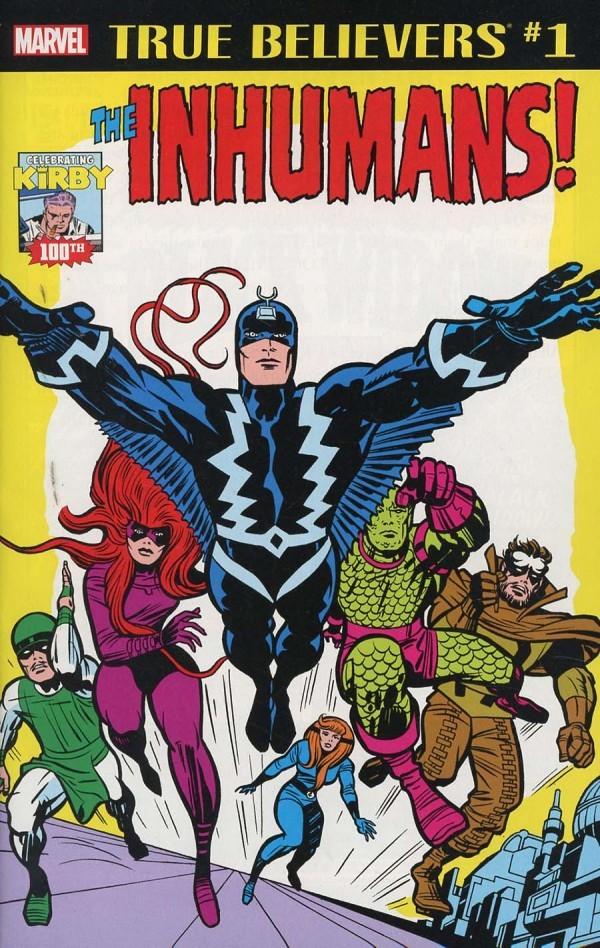 True Believers: Kirby 100th - Inhumans