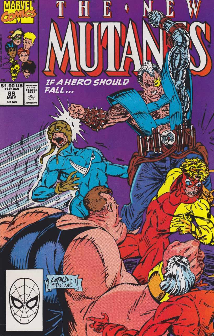 The New Mutants #89