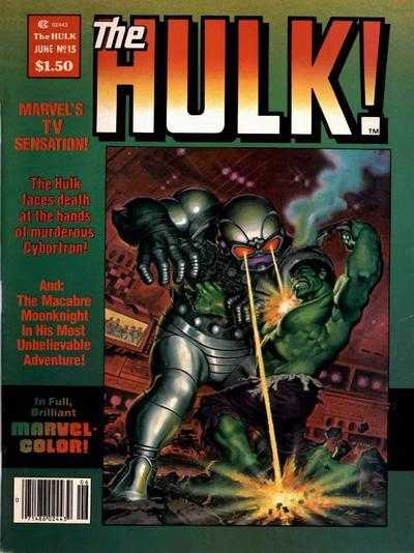 The Rampaging Hulk #15