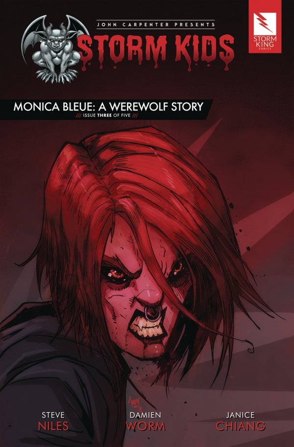 John Carpenter Presents Storm Kids: A Monica - Bleue Werewolf Story #3