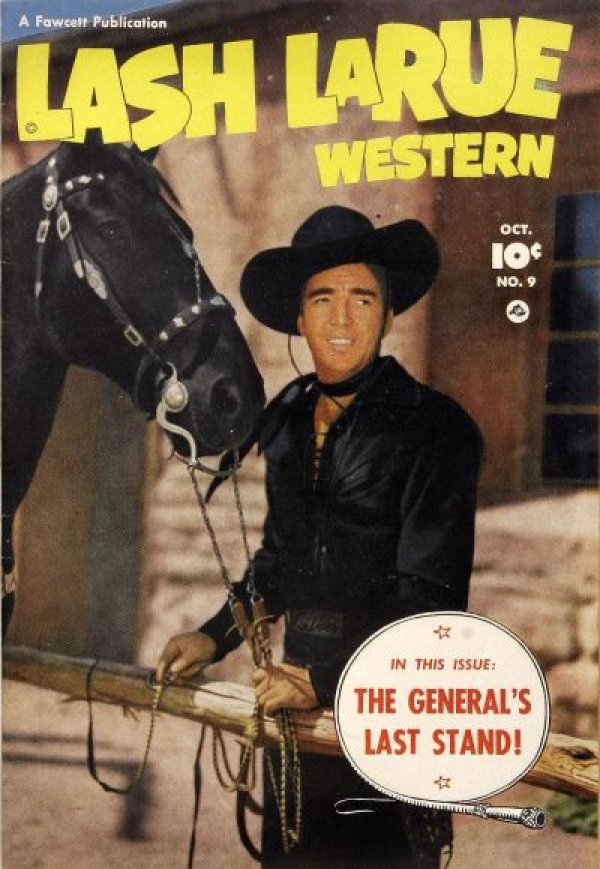 Lash LaRue Western #9