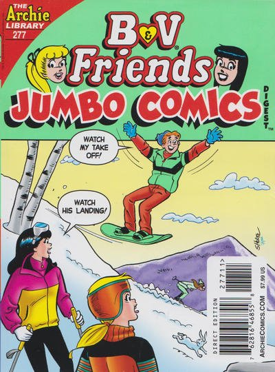 B & V Friends Comics Double Digest #277