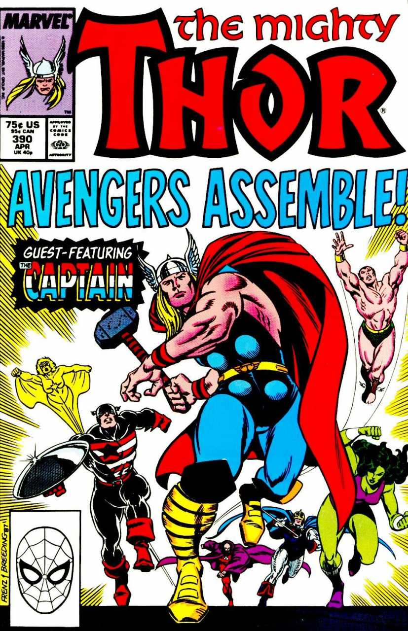 The Mighty Thor #390