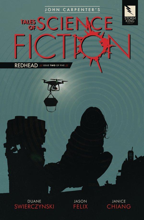 John Carpenter's Tales of Science Fiction: Redhead #2