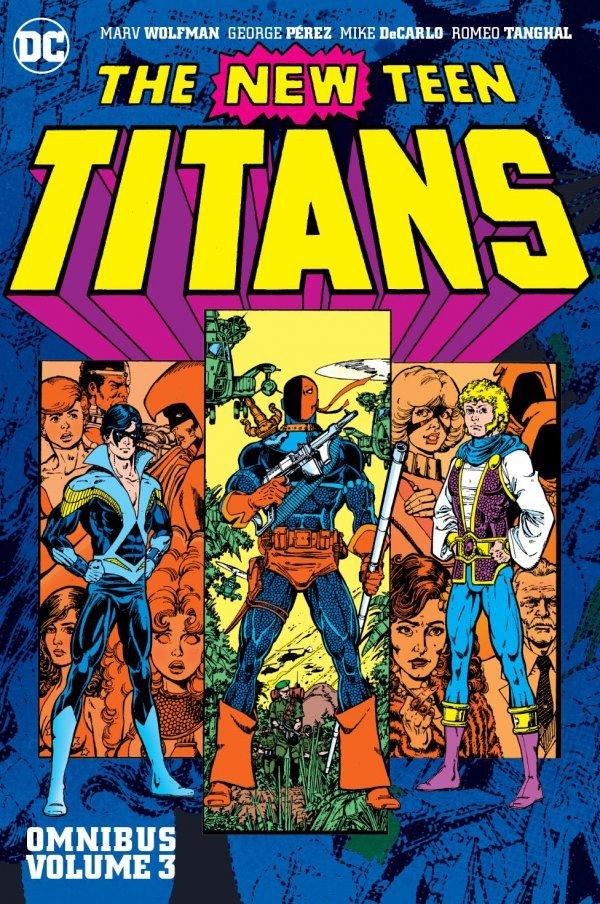 The New Teen Titans Omnibus Vol. 3 HC New Edition