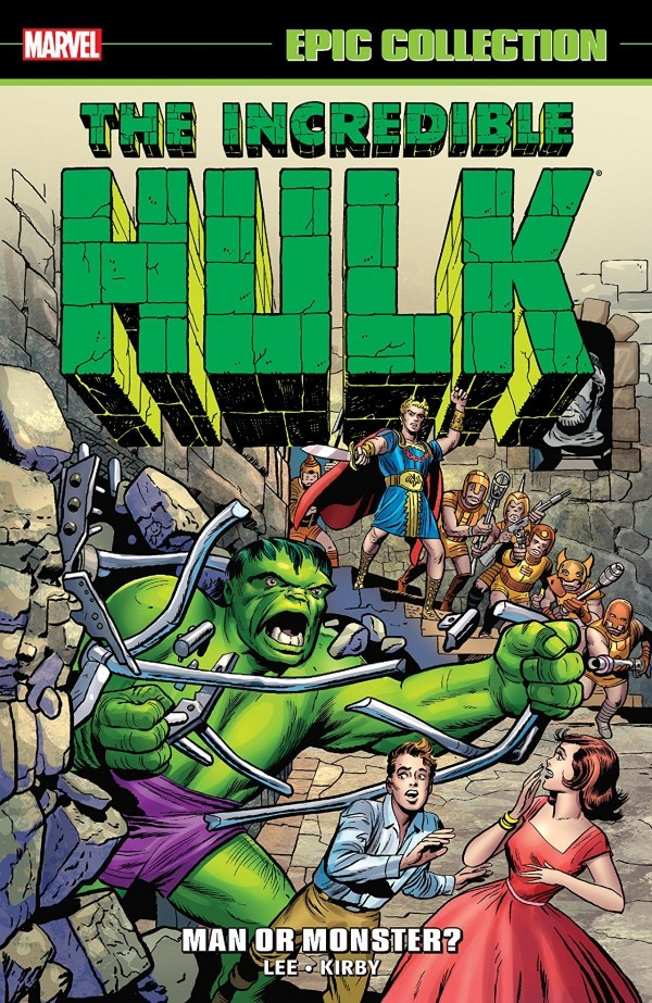 The Incredible Hulk Epic Collection: Man or Monster? TP