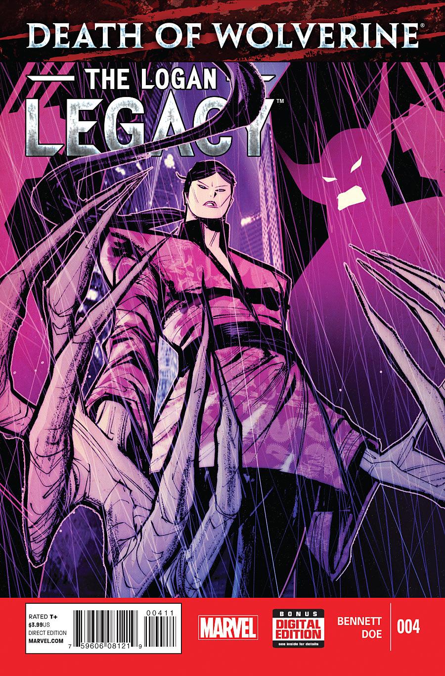Death of Wolverine: The Logan Legacy #4