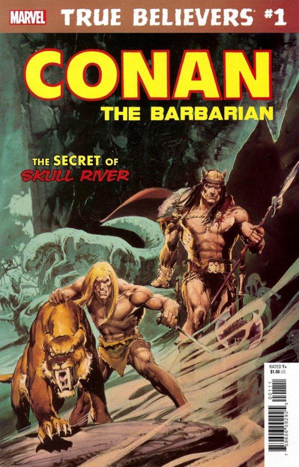 True Believers: Conan - The Secret of Skull River #1