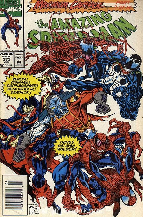 The Amazing Spider-Man #379 Newsstand Edition
