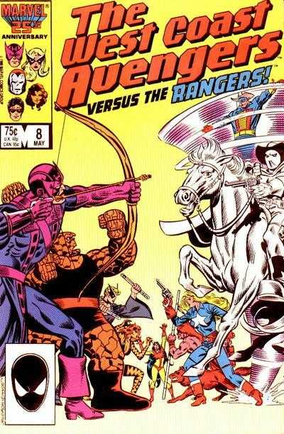 The West Coast Avengers #8
