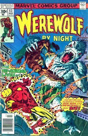 Werewolf By Night #43