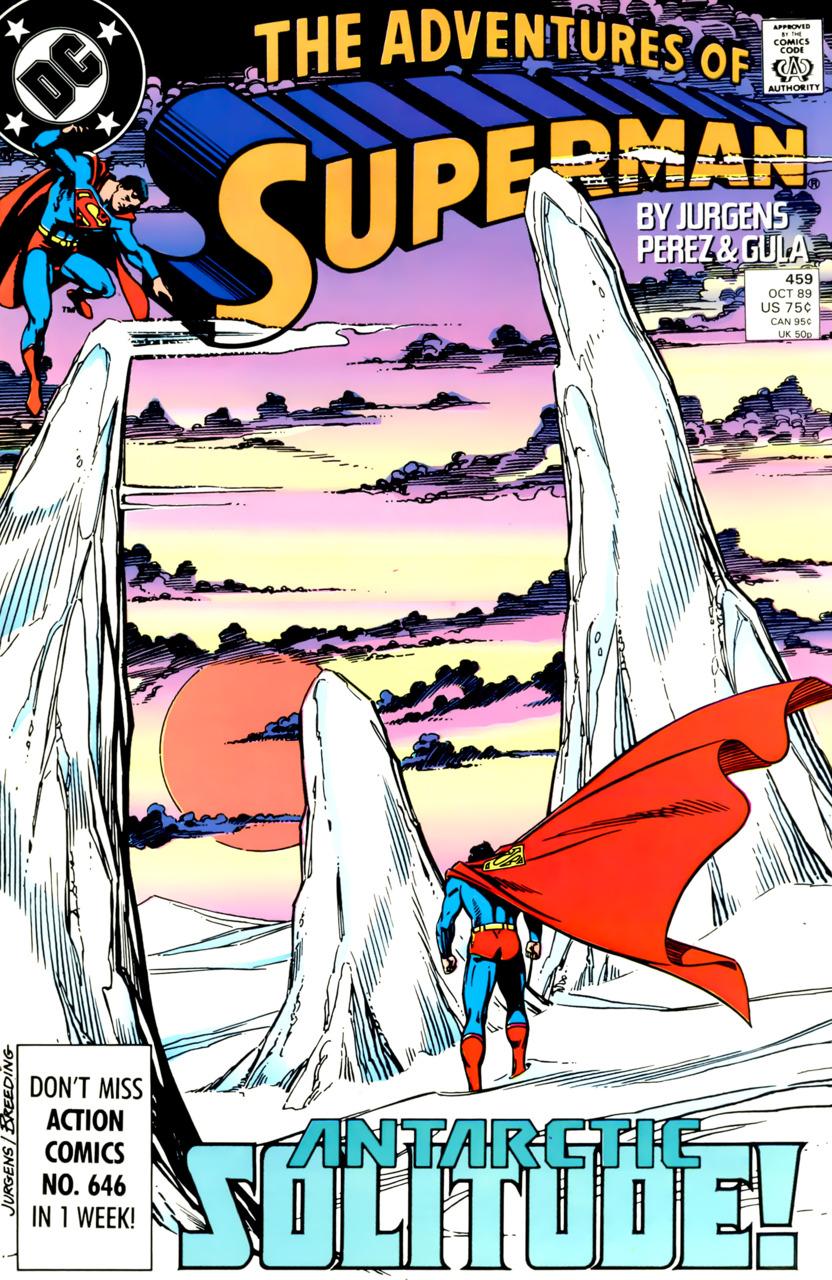 Adventures of Superman #459