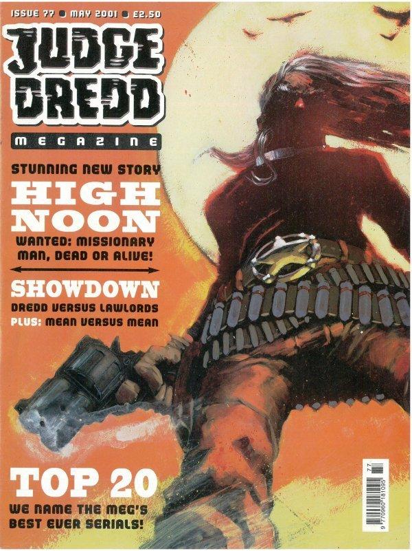 Judge Dredd Megazine #77