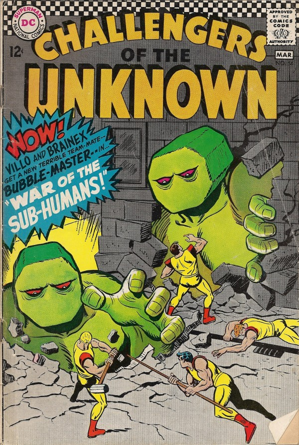 Challengers of the Unknown #54