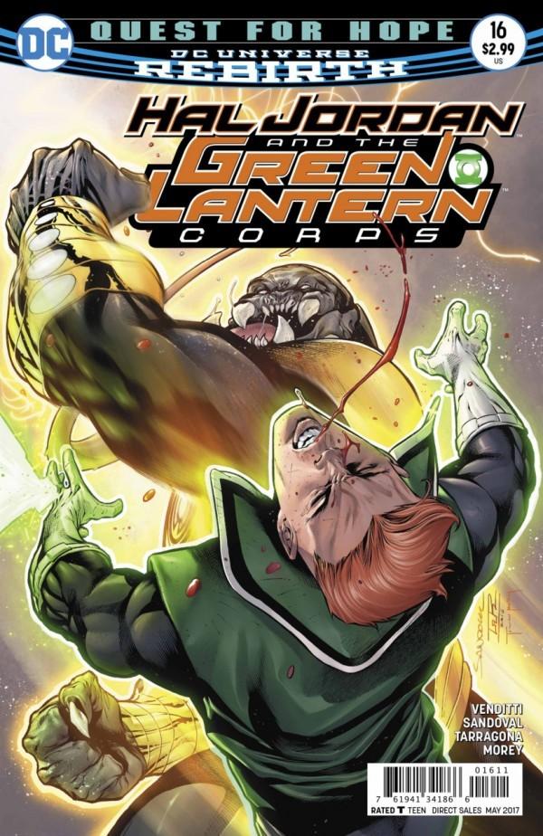 Hal Jordan and the Green Lantern Corps #16