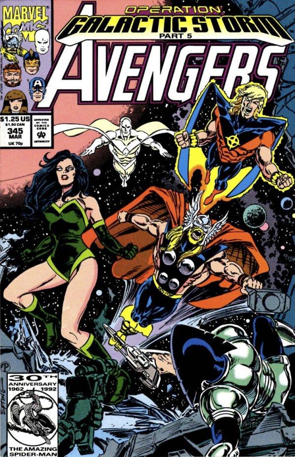 The Avengers #345