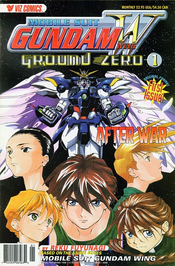 Mobile Suit Gundam Wing: Ground Zero #1