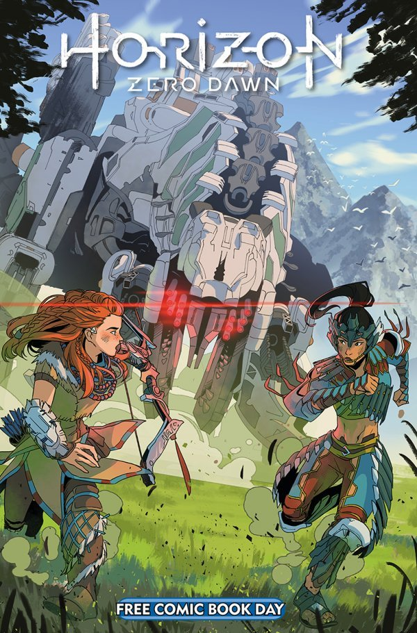 Free Comic Book Day 2020:  Horizon Zero Dawn #1