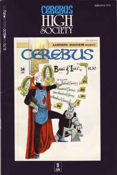 Cerebus High Society #9