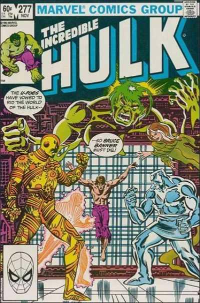 The Incredible Hulk #277