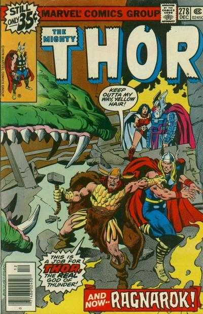 The Mighty Thor #278