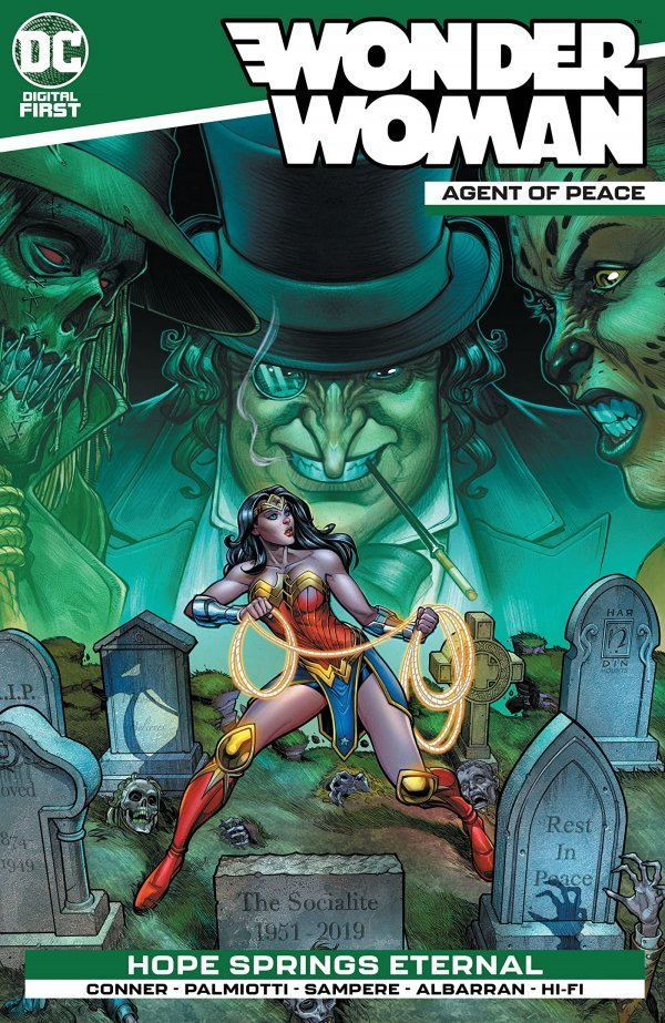 Wonder Woman: Agent of Peace Chapter #4