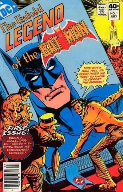 The Untold Legend of the Batman #1