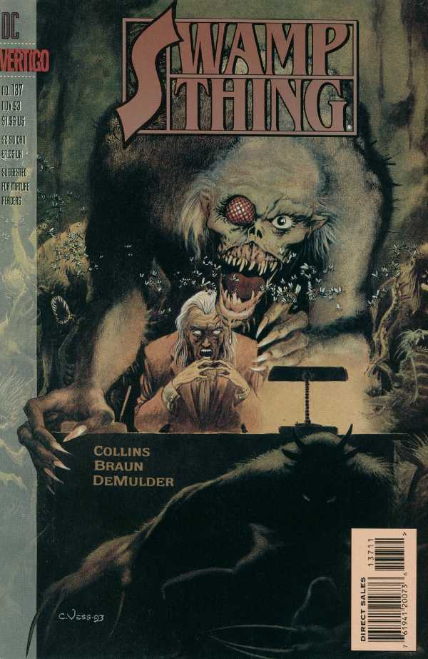 The Saga of the Swamp Thing #137
