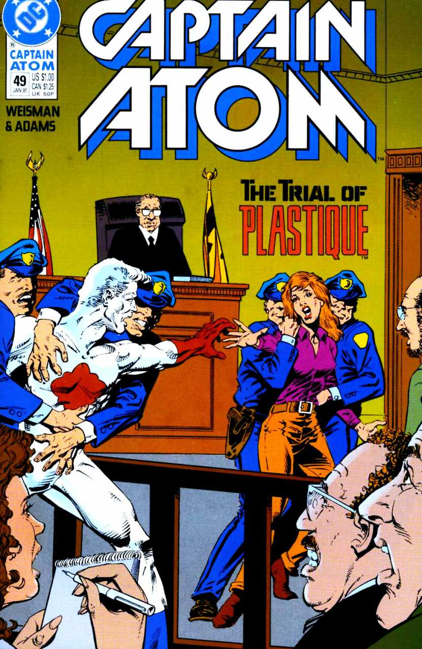 Captain Atom #49