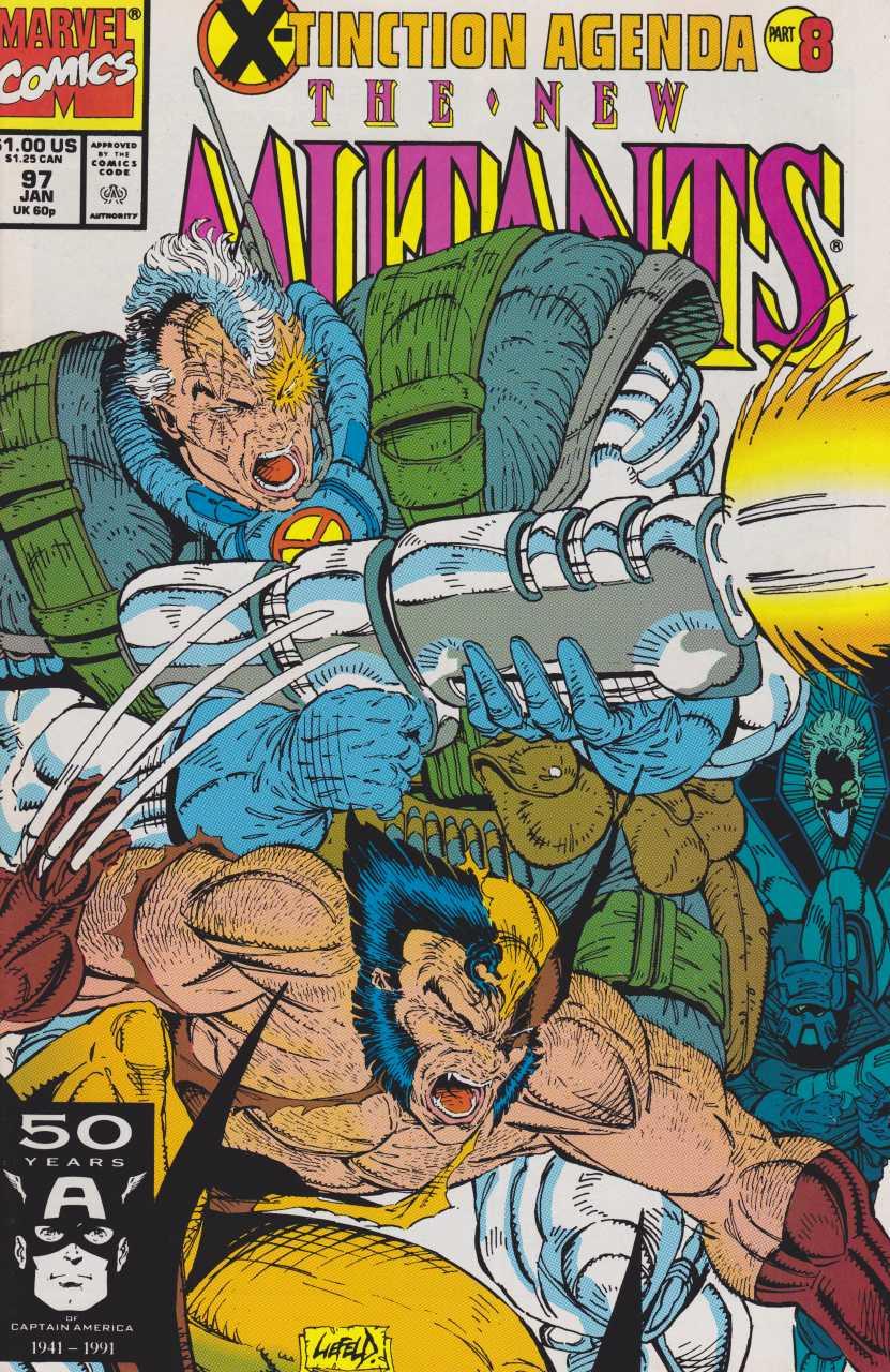 The New Mutants #97