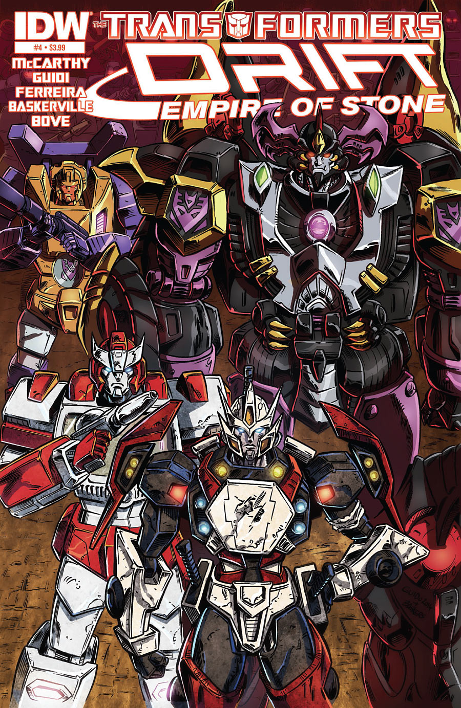 The Transformers: Drift - Empire of Stone #4