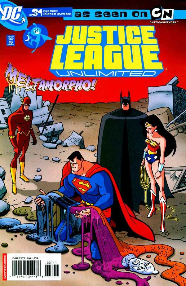Justice League Unlimited #31
