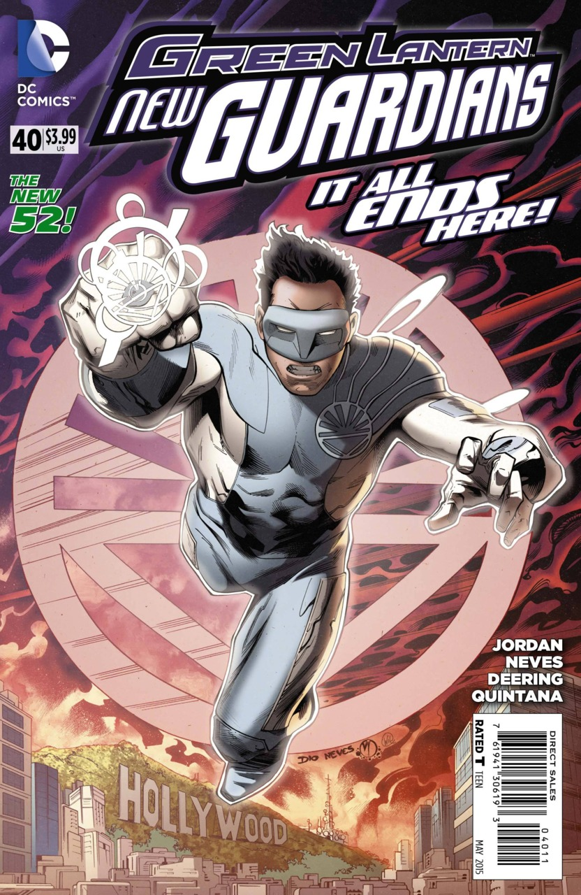 Green Lantern: New Guardians #40