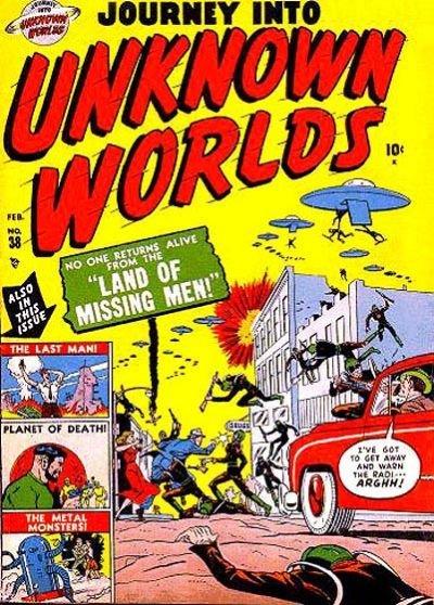 Journey Into Unknown Worlds #3