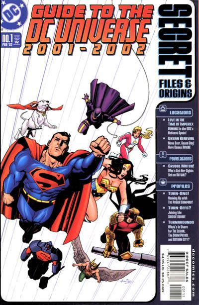 Secret Files and Origins Guide to the DC Universe 2001-2002 #1