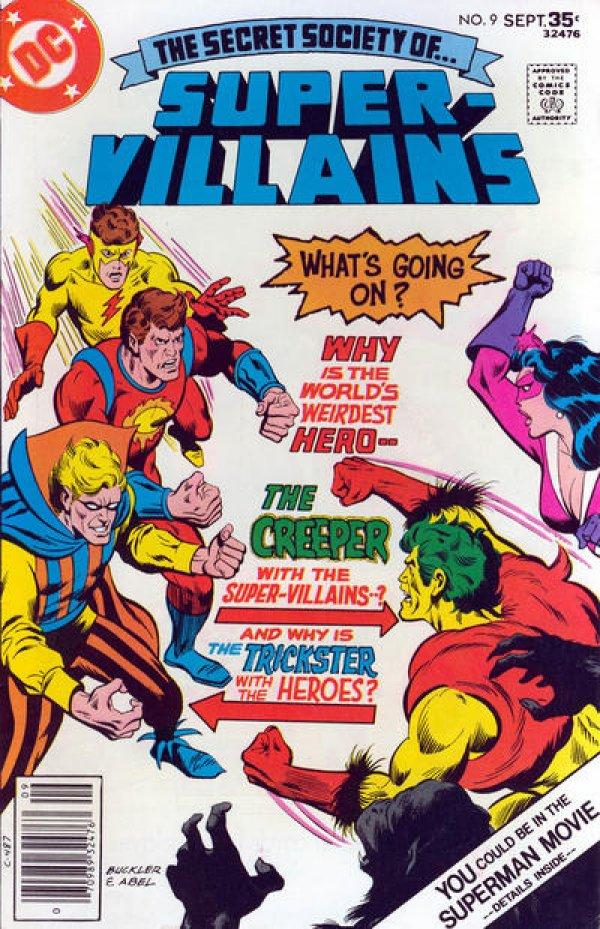 The Secret Society of Super-Villains #9