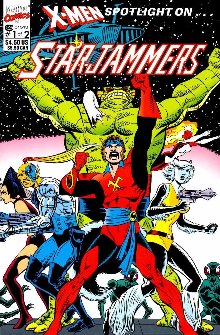 X-Men Spotlight on... Starjammers #1