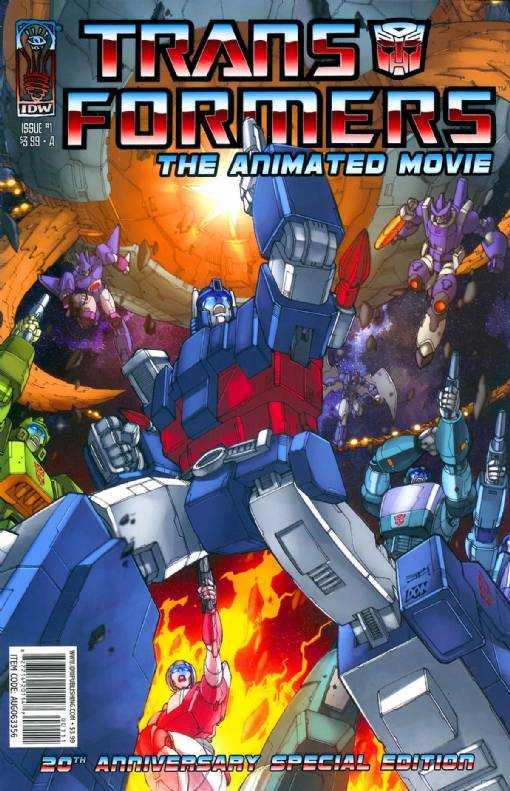 The Transformers Animated Movie Adaptation #1