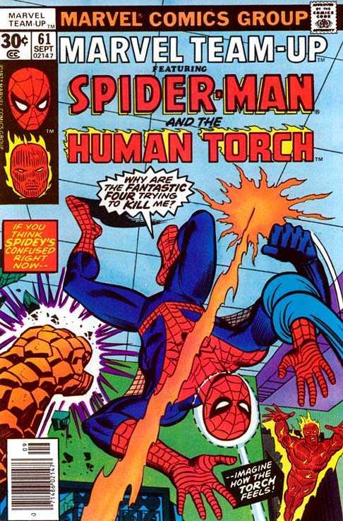 Marvel Team-Up #61