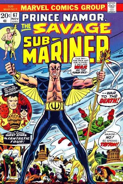 Sub-Mariner #67