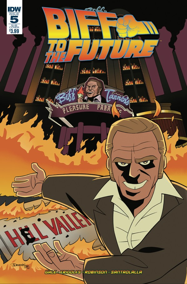 Back to the Future: Biff to the Future #5 Subscription Variant