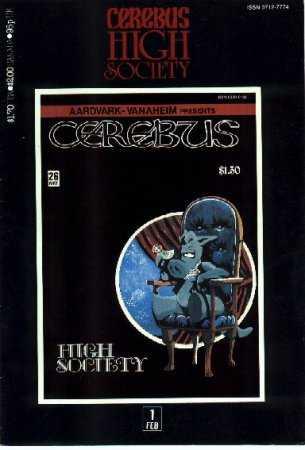 Cerebus High Society #1
