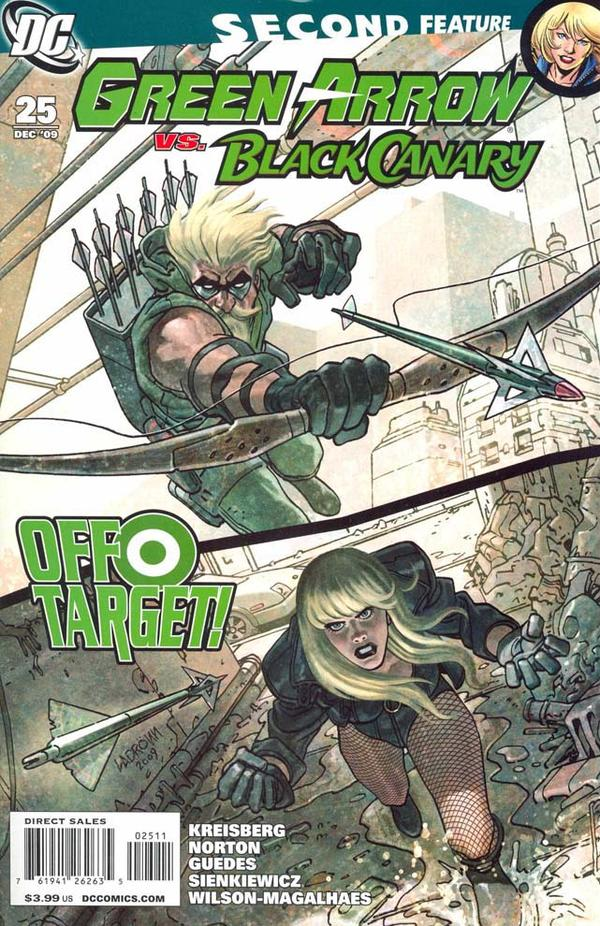 Green Arrow / Black Canary #25