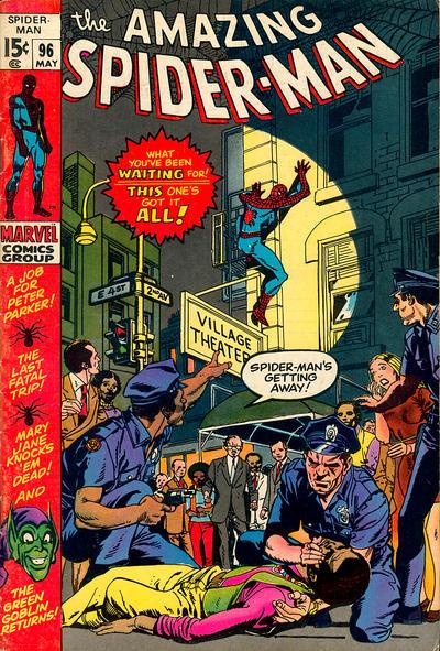 The Amazing Spider-Man #96