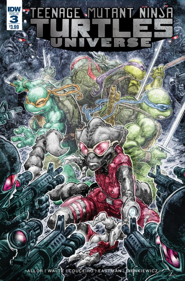 Teenage Mutant Ninja Turtles: Universe #3