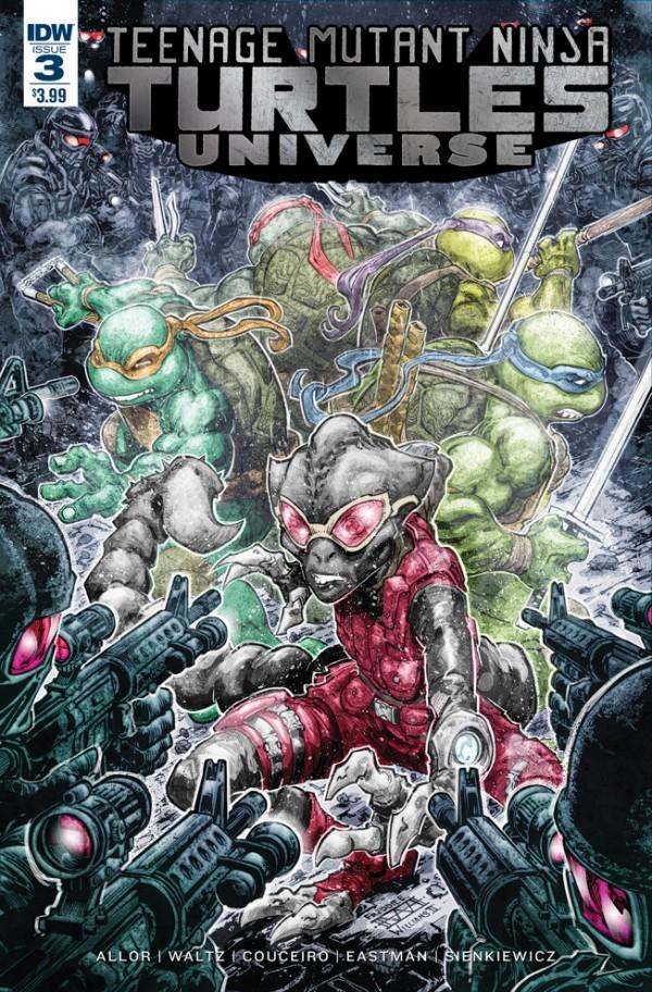 Teenage Mutant Ninja Turtles: Universe #3