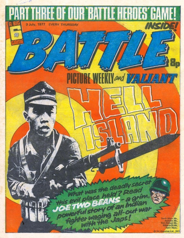 Battle Picture Weekly #123 (July 9th, 1977)