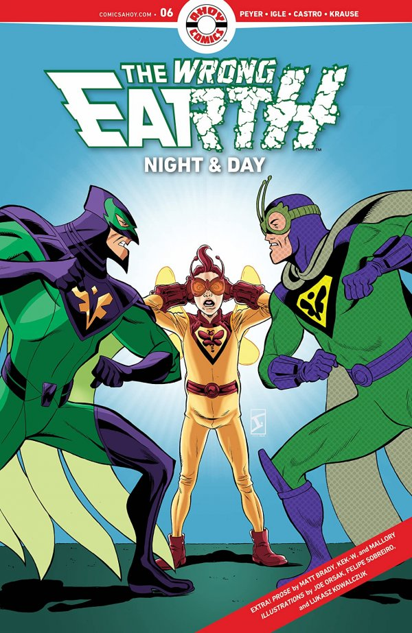 The Wrong Earth: Night & Day #6