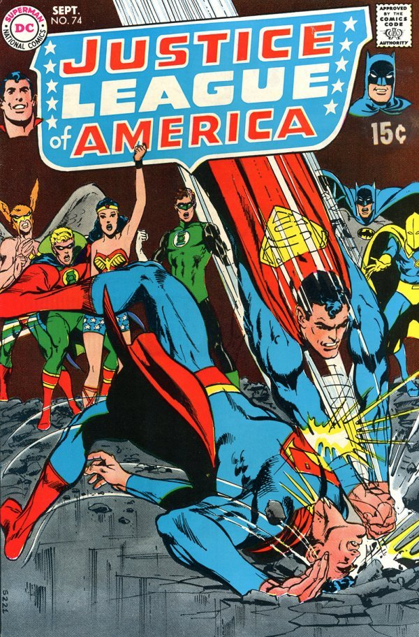 Justice League of America #74