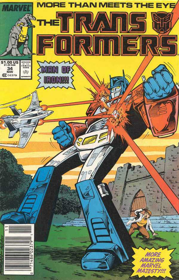 The Transformers #34